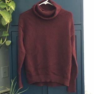 Athleta cowl neck sweater